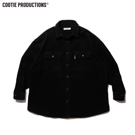 COOTIE Wide Corduroy CPO Jacket<img class='new_mark_img2' src='https://img.shop-pro.jp/img/new/icons7.gif' style='border:none;display:inline;margin:0px;padding:0px;width:auto;' />