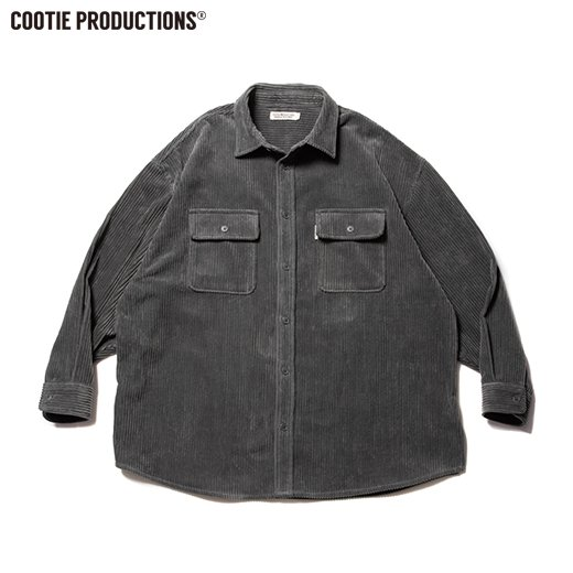 COOTIE Wide Corduroy CPO Jacket<img class='new_mark_img2' src='https://img.shop-pro.jp/img/new/icons50.gif' style='border:none;display:inline;margin:0px;padding:0px;width:auto;' />