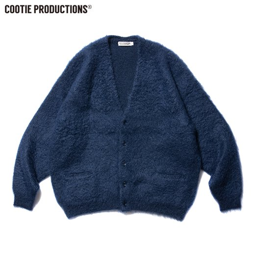 COOTIE Mohair Cardigan<img class='new_mark_img2' src='https://img.shop-pro.jp/img/new/icons7.gif' style='border:none;display:inline;margin:0px;padding:0px;width:auto;' />