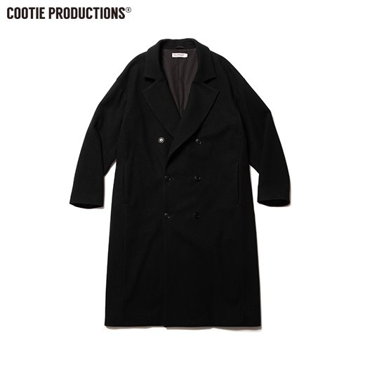 COOTIE Wool Mossa Double Chester Coat<img class='new_mark_img2' src='https://img.shop-pro.jp/img/new/icons7.gif' style='border:none;display:inline;margin:0px;padding:0px;width:auto;' />