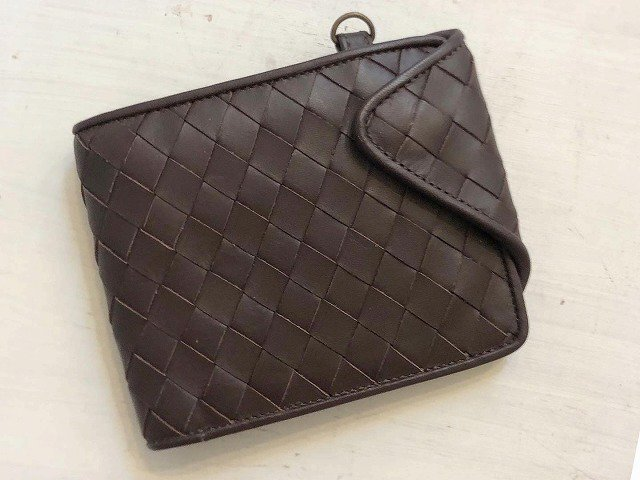 【Marvelous Staff】 WOVEN LEATHER WALLET