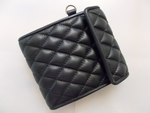 【Marvelous Staff】 QUILTING LEATHER WALLET