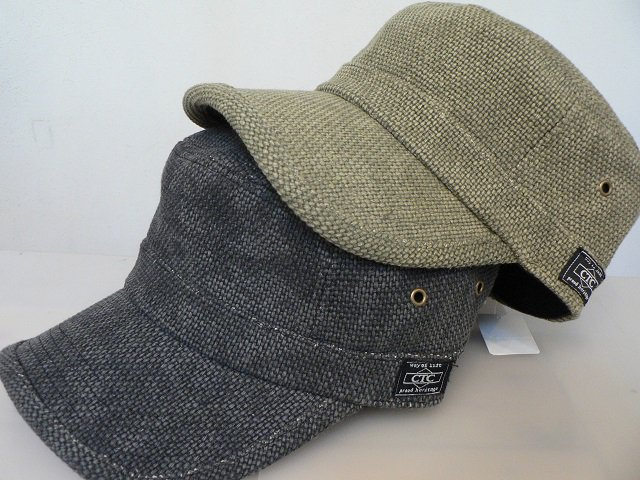 WASHED CANVAS WORK CAP