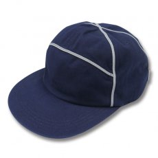 90's POLOSPO PIPING CAP [NAVY-GREY PIPING]
