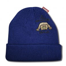 Z WILL NEVER DIE SHORT BEANIE [NAVY]