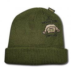 Z WILL NEVER DIE SHORT BEANIE [OLIVE]