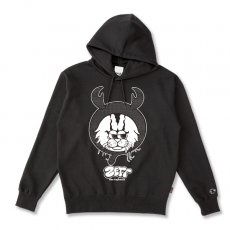 DORCUS X IBUCHANG X ZETT THE INFINITE 10.0oz POCKETLESS HOODIE [BLACK]