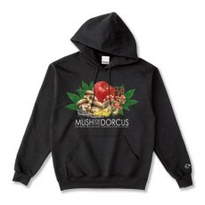 MUSH FOR THE DORCUS 8.0oz HOODIE [BLACK]