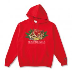 MUSH FOR THE DORCUS 8.0oz HOODIE [RED]