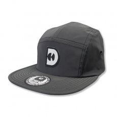 REFLECTIVE D-CAMP CAP [BLACK]
