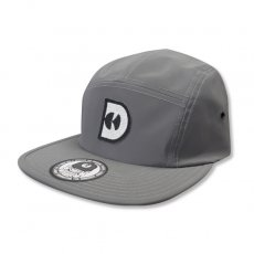 REFLECTIVE D-CAMP CAP [GREY]
