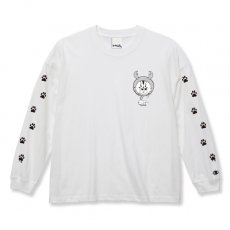DORCUS X IBUCHANG X ZETT THE INFINITE BIG SILHOUETTE L/S T-SHIRTS 5.6oz [WHITE]