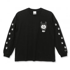 DORCUS X IBUCHANG X ZETT THE INFINITE BIG SILHOUETTE L/S T-SHIRTS 5.6oz [BLACK]