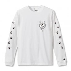 DORCUS X IBUCHANG X ZETT THE INFINITE STANDARD L/S T-SHIRTS 5.6oz [WHITE]