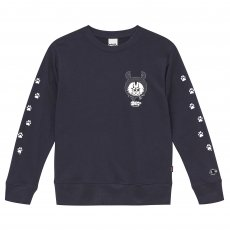 ZETT THE INFINITE CREW SWEAT [NAVY]