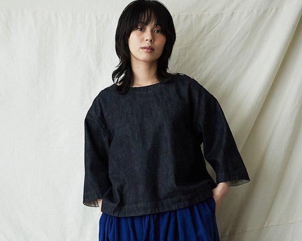 |SALE| denim pullover