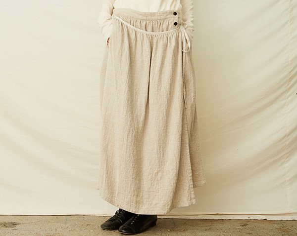 wrap-around skirt