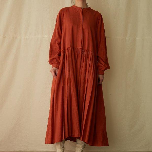 balloon-sleeve dress