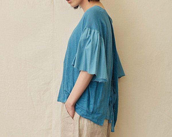|SALE| flared-sleeve t-shirt