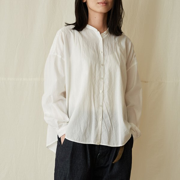 |先行予約|  gathered blouse I
