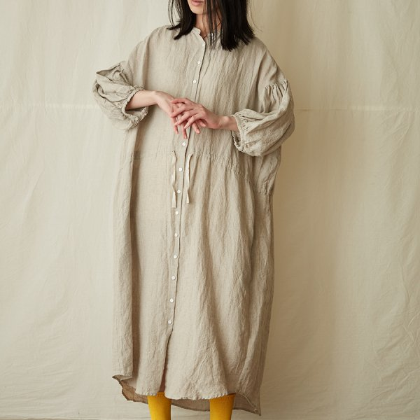 |先行予約| puff-sleeve dress