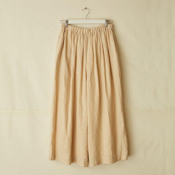 gathered pants I
