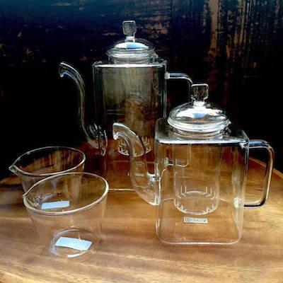 Glass tea pot / 耐熱 ガラス ティーポ...