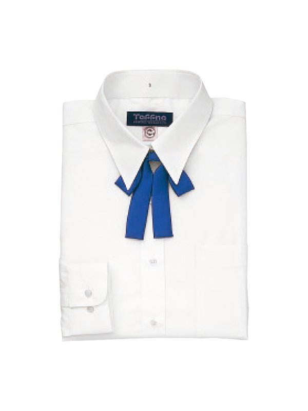 女性用長袖カッターシャツ(タフナブラウス)