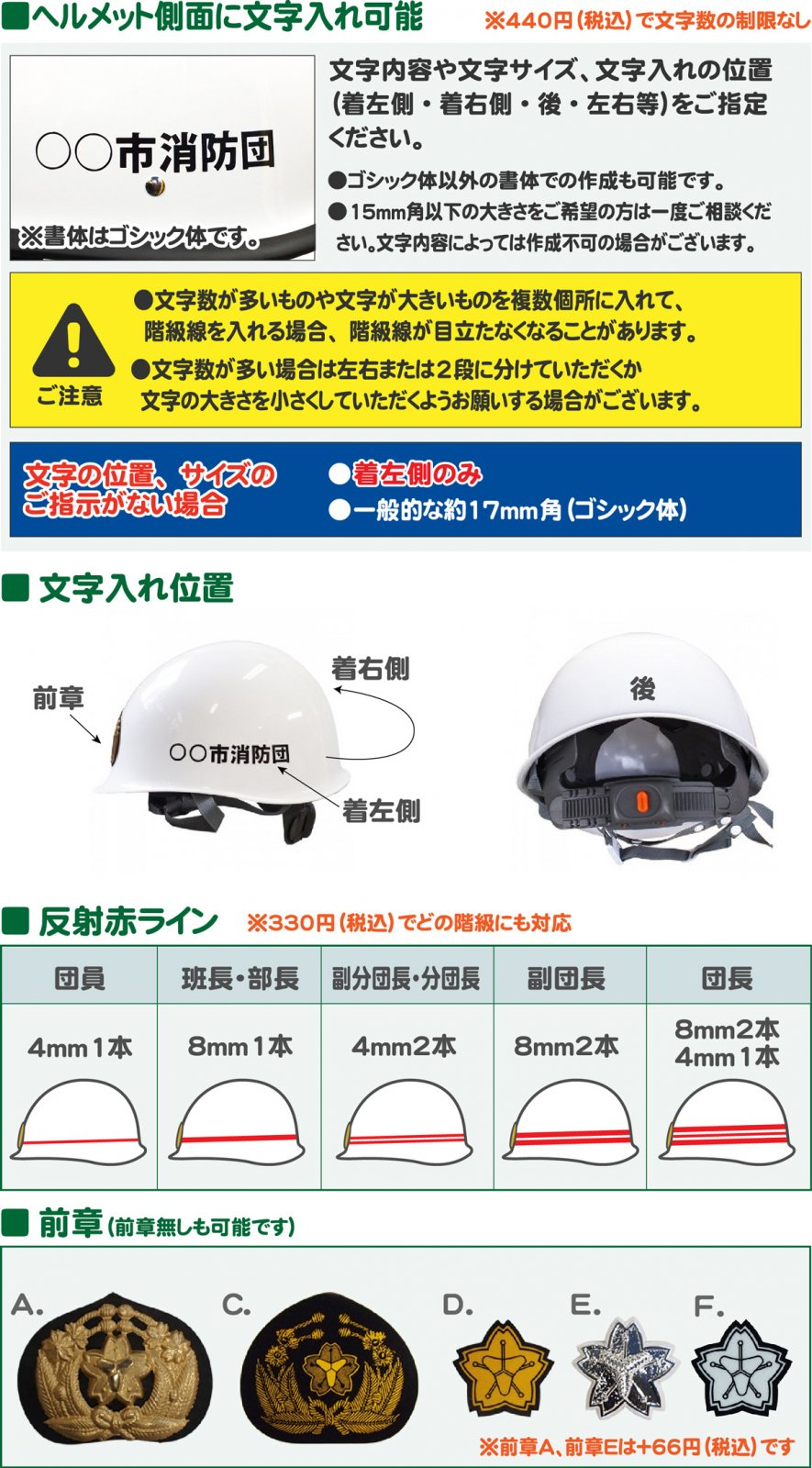 消防団ヘルメット【画像6】