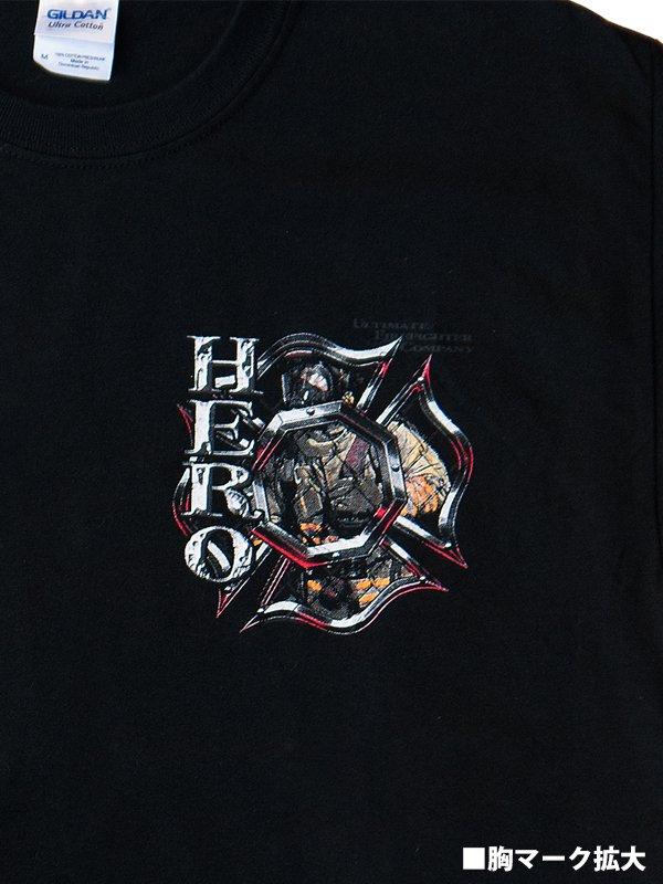 HERO 消防Tシャツ【画像4】