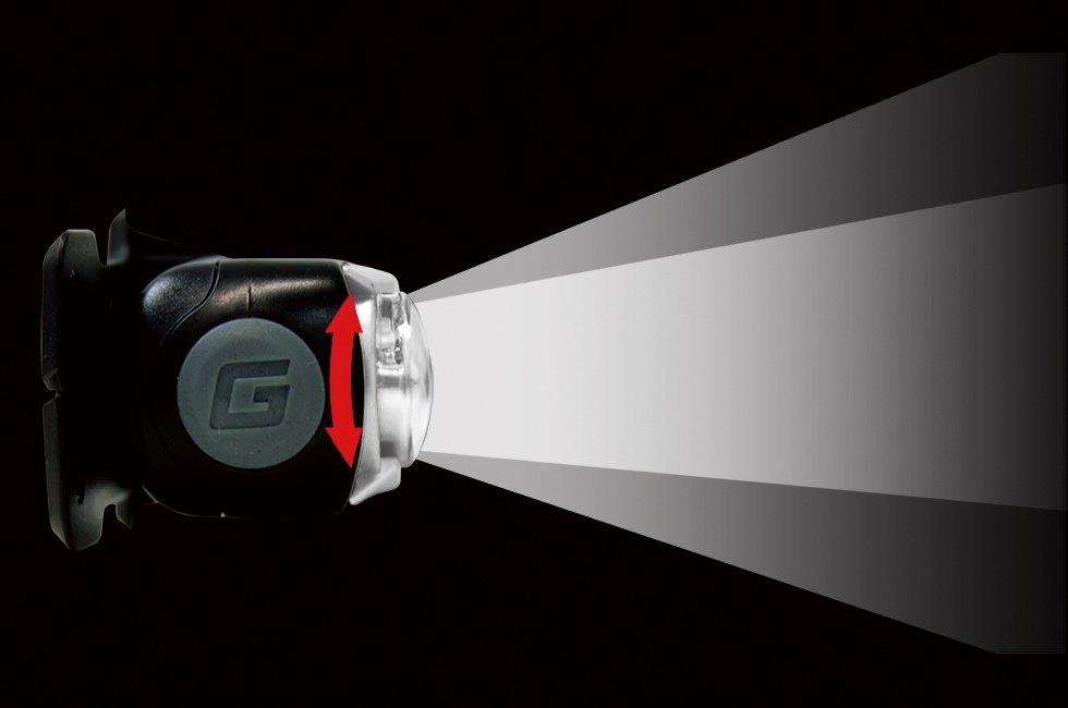ジェントスヘッドライト GT-301D GENTOS【画像5】