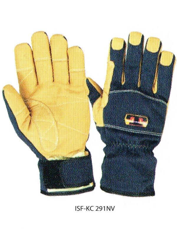 【在庫限り特価】トンボレスキュー手袋 ISF-KC291NV/ISF-KC291R【画像3】