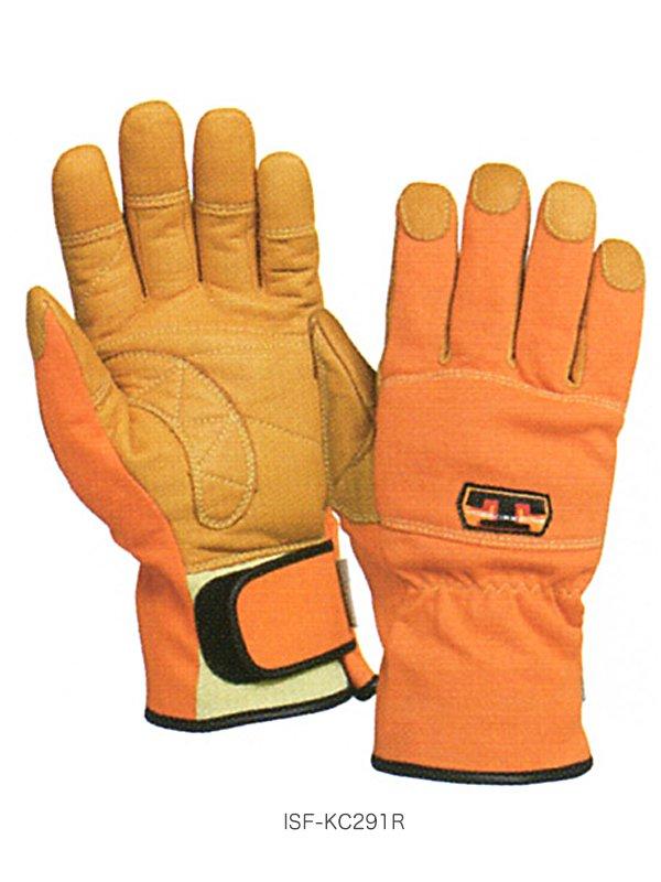 【在庫限り特価】トンボレスキュー手袋 ISF-KC291NV/ISF-KC291R【画像4】