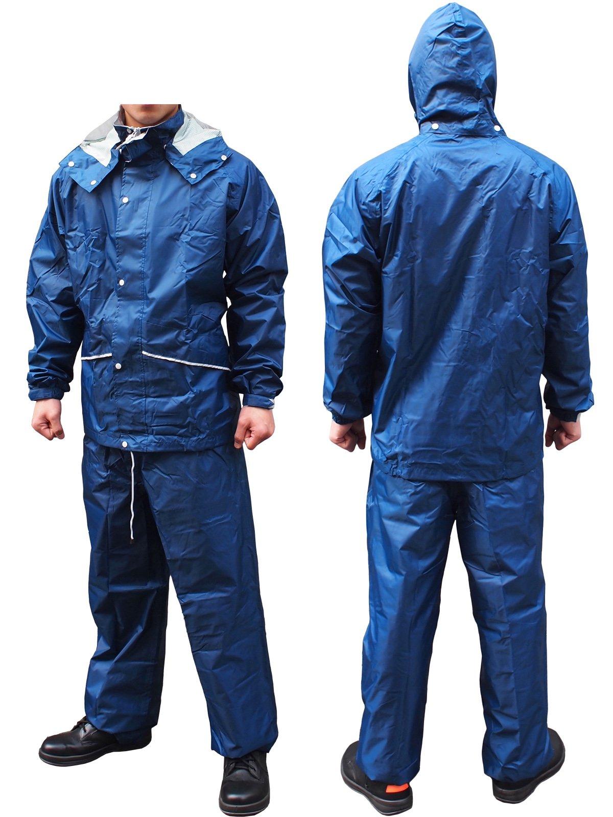軽量・透湿レインスーツ FINE FIELD(ファインフィールド)No.400(雨衣)【画像5】