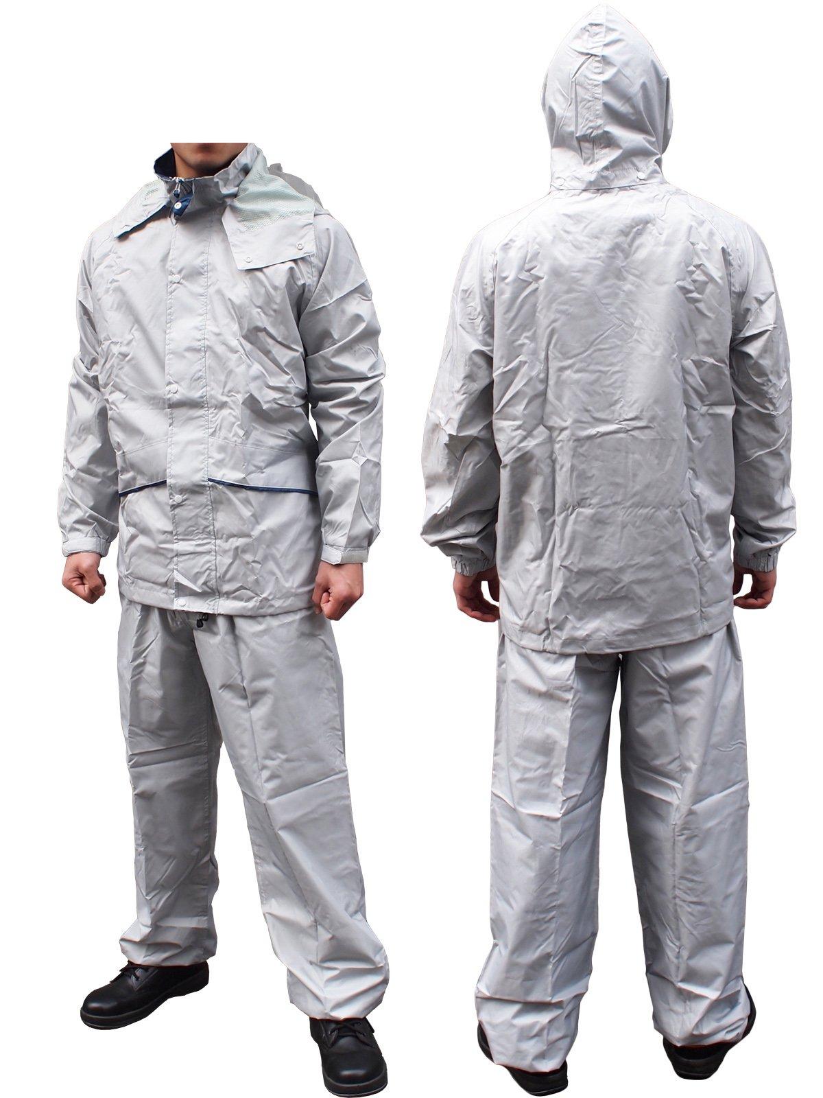 軽量・透湿レインスーツ FINE FIELD(ファインフィールド)No.400(雨衣)【画像6】