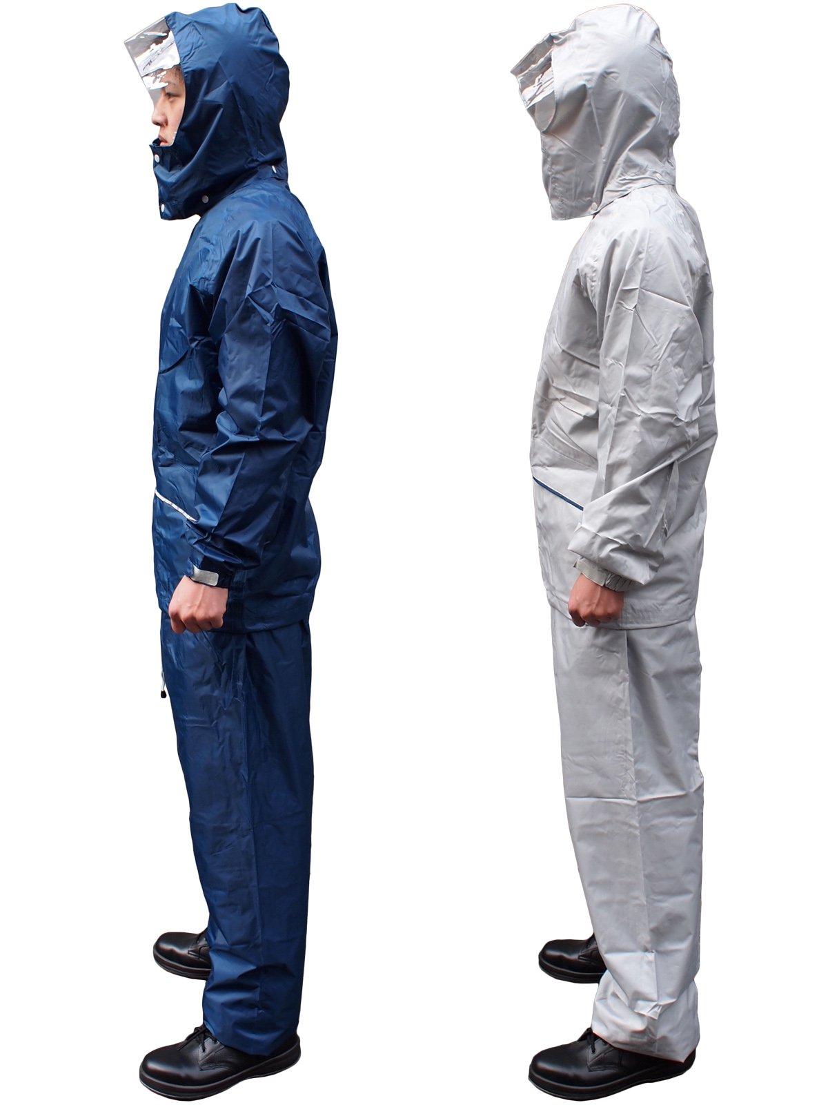 軽量・透湿レインスーツ FINE FIELD(ファインフィールド)No.400(雨衣)【画像7】