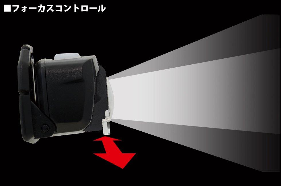 【在庫限り特価】GT-501D  GENTOS ジェントスヘッドライト 【画像4】
