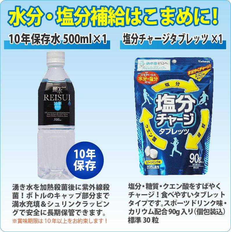 熱中症対策キット コンパクトなクーラーバッグに入ったセット【画像6】