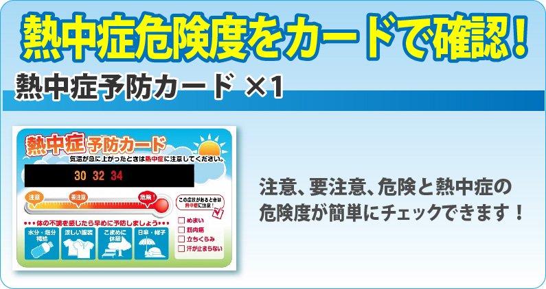 熱中症対策キット コンパクトなクーラーバッグに入ったセット【画像8】
