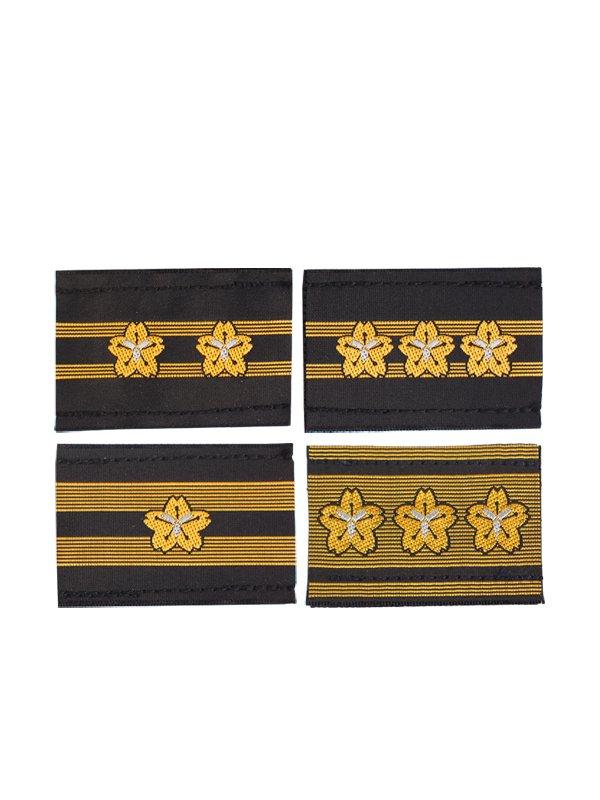消防団員布製階級章3.0×4.5センチ
