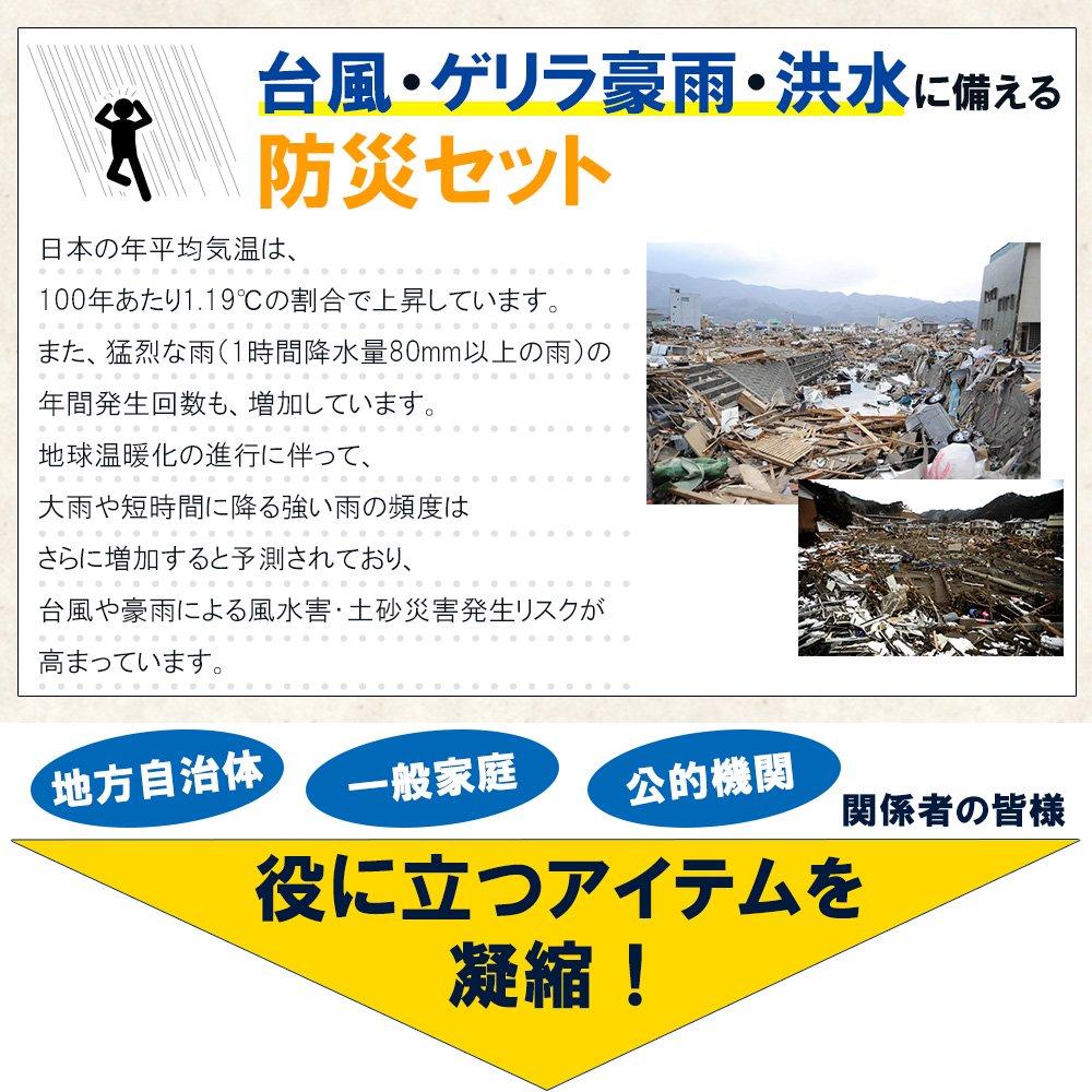 水害対策 防災セット 水難被災用 浮くリュック 避難セット 最新版【画像3】