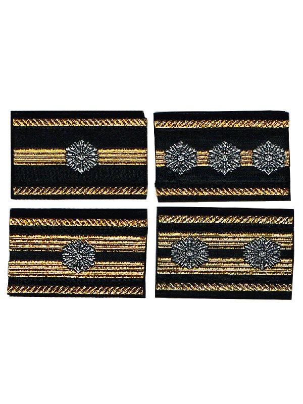 消防吏員用布製階級章:2