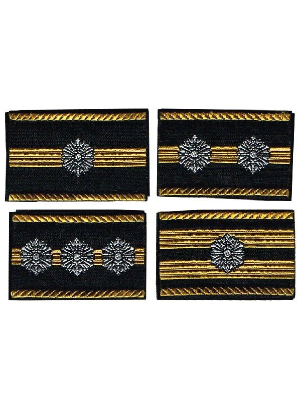 消防吏員用布製階級章:3