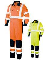 消防作業服(防災服) 高視認性安全服 ツナギ