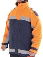 トンボレックス手袋 3WAY高視認消防防寒コート 消防寒