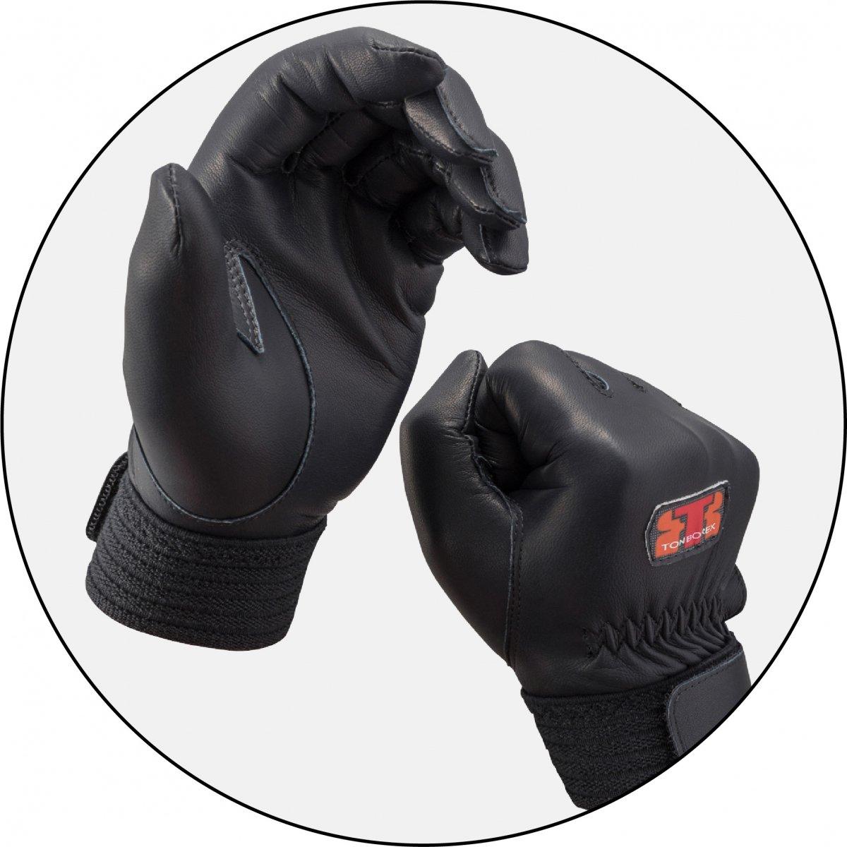 トンボレックス R-MAX1BK 羊革製手袋【画像2】