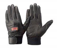消防団操法関連グッズ トンボレックス CS-931BK 牛革製手袋