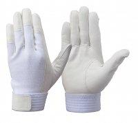 刺繍・裾上げ トンボレックス RS-601W 羊革製手袋