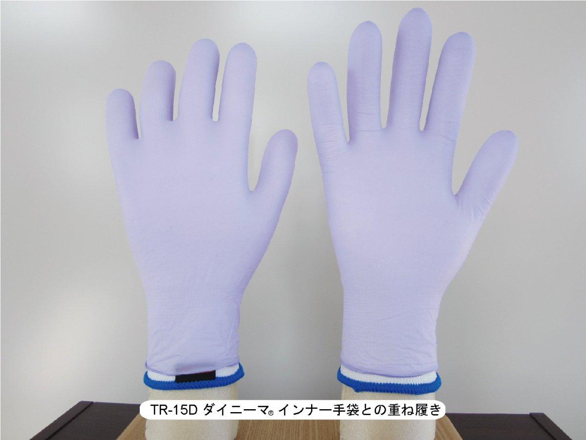 トンボレックス NBR-700 ニトリル手袋  【画像3】