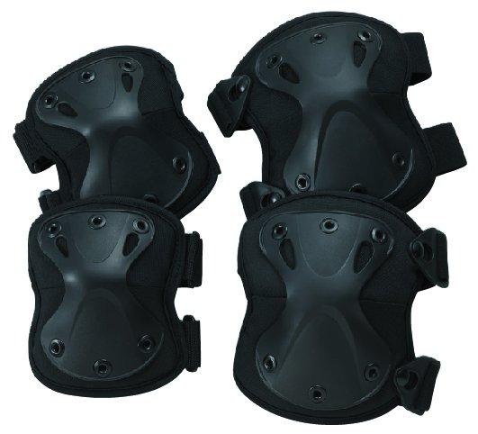 トンボレックス G-JPS5BK ハードタイプ樹脂パッド(肘・膝セット)
